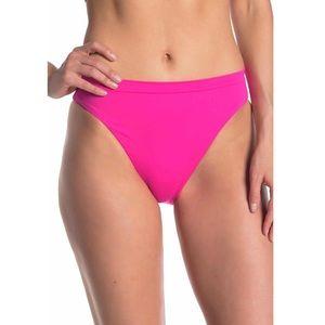 BECCA High Waist Neon Pink Swimming Bikini…